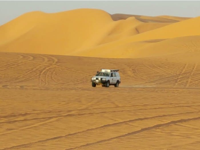 Excursion en 4x4 desierto Sahara