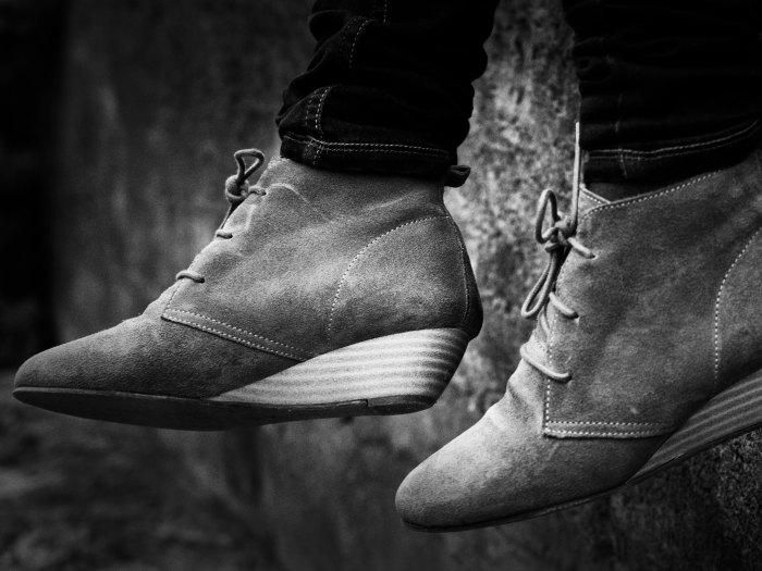 A Acuario le gustan los zapatos cómodos