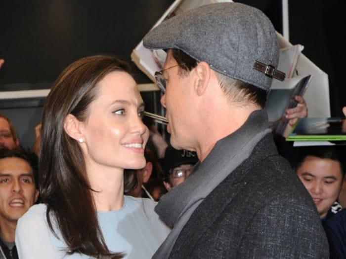 Angelina Jolie y Brad Pitt: separación. Fuente: Pinterest