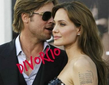 Brad Pitt y Angelina Jolie se divorcian