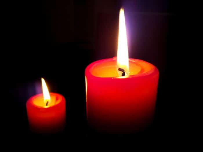 Velas rojas para un Ritual para el Amor