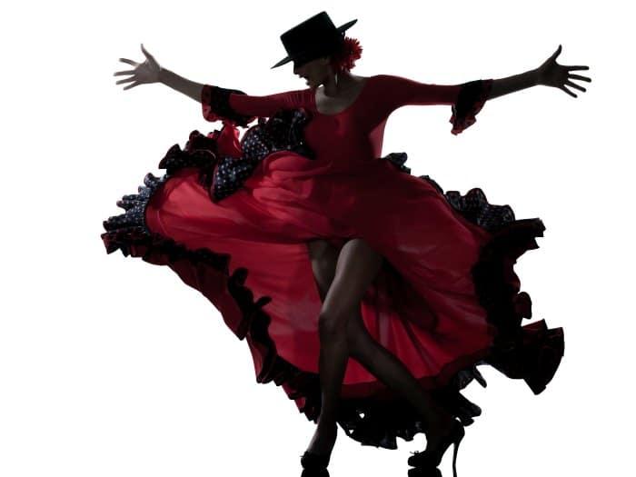 Piscis disfrazada de flamenca