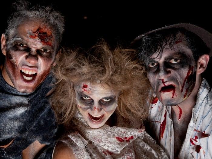 Sagitario disfrazado de zombi