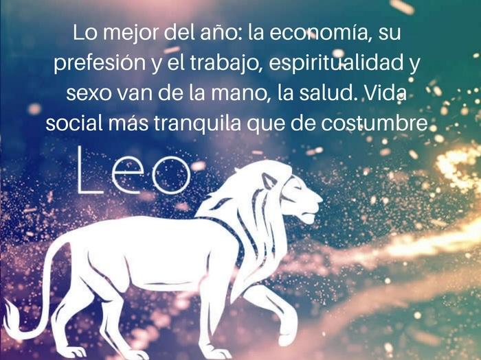 Predicción 2017 Leo