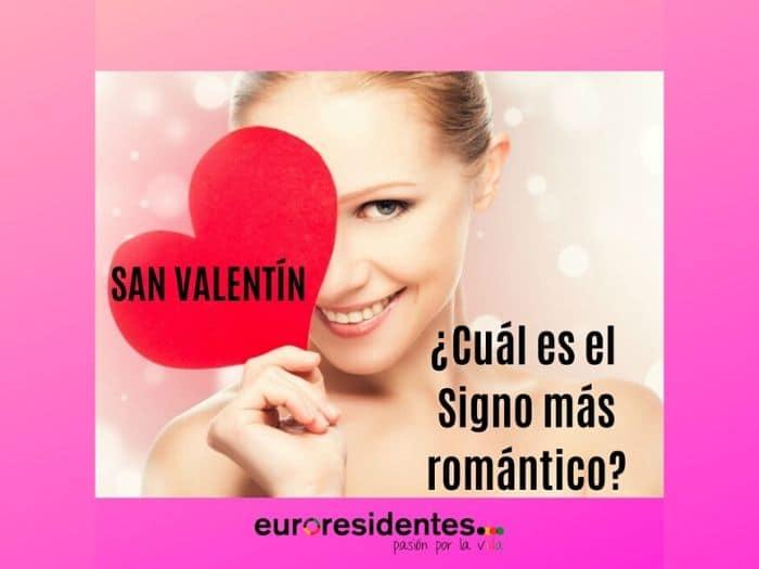 ¿Cuál es el signo más romántico?