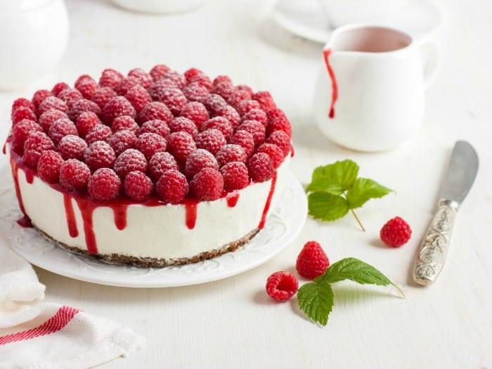 ¿Con qué pastel podrías tentar a un Frambuesas?