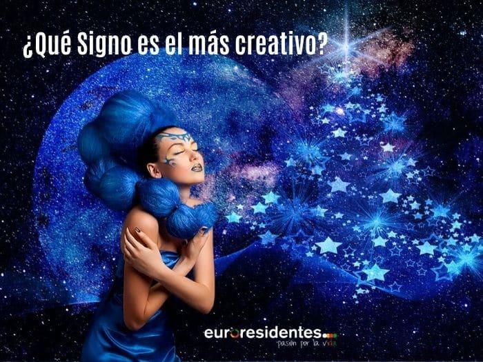 ¿Cuál es el Signo más creativo?