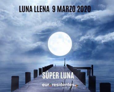Luna LLena y el Coronavirus
