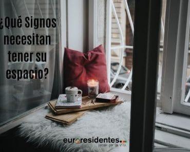 ¿Qué Signos necesitan tener su espacio?