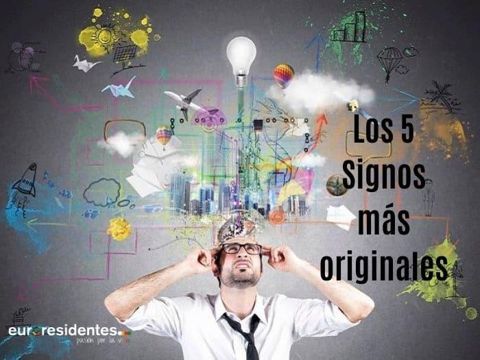 Los 5 Signos más originales e imaginativos