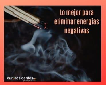 Lo mejor para eliminar para las energías negativas
