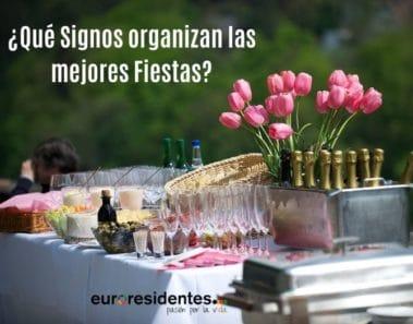 ¿Qué Signos organizan las mejores Fiestas?