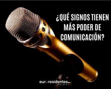 ¿Qué Signos tienen más poder de comunicación?