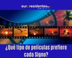 ¿Qué tipo de películas prefieren los Signos?