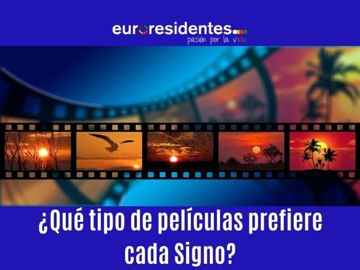 ¿Qué tipo de películas prefiere cada Signo?