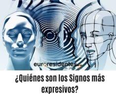 ¿Quiénes son los Signos más expresivos?