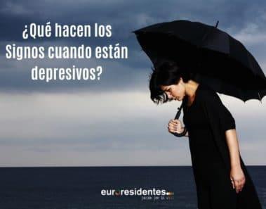 ¿Qué hacen los Signos cuando están depresivos?