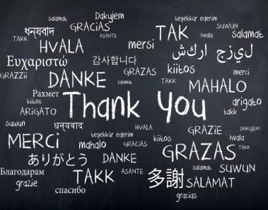 Palabras agradecimiento