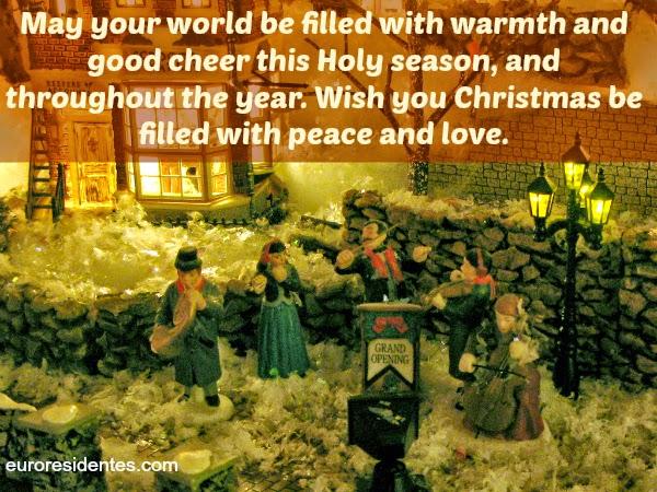 Felicitaciones De Navidad En Castellano.Frases De Navidad En Ingles Frases Y Citas Celebres