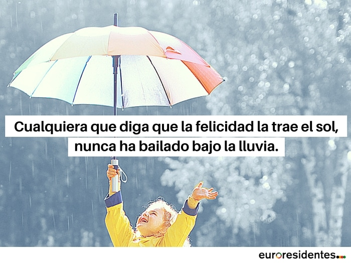 Frases de lluvia