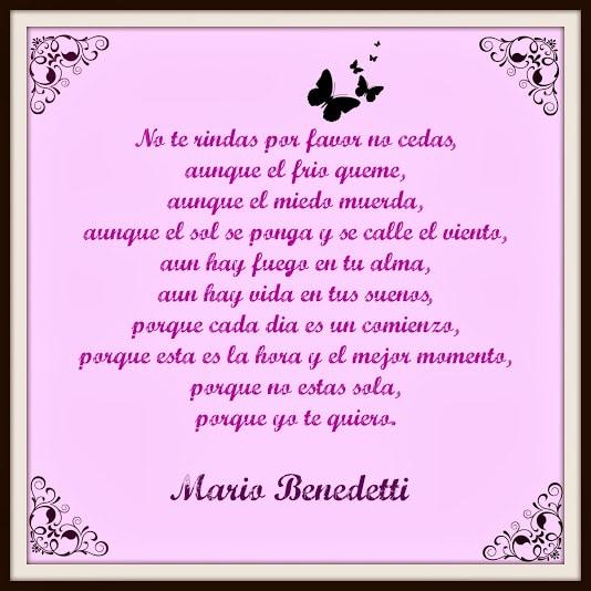 Las Mejores Frases De Amor De Mario Benedetti Frases Y Citas Celebres