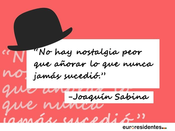 Frases de amor de Joaquín Sabina