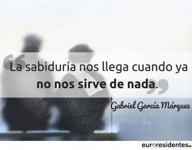 Gabriel García Márquez frases euroresidentes
