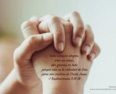 Frases agradecimiento a Dios