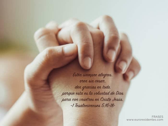 Frases De Agradecimiento A Dios Frases Y Citas Celebres