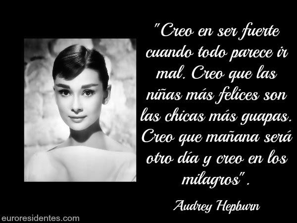 Frases De Audrey Hepburn Frases Y Citas Célebres