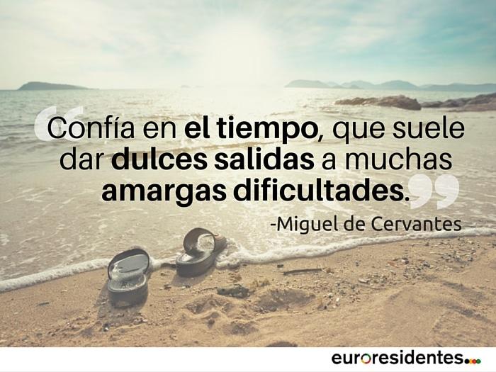el tiempo Cervantes