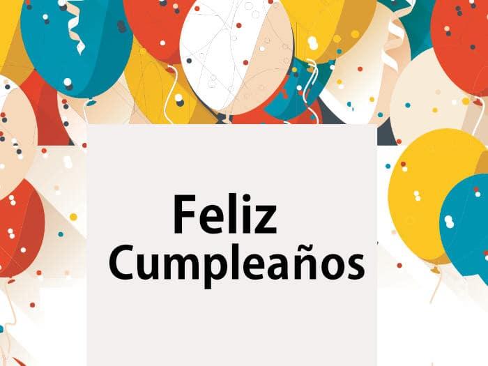 Felicitar cumpleaños hijo