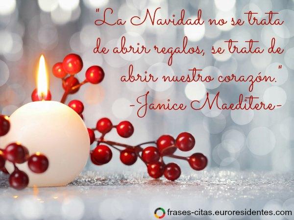 Frases de navidad cortas frases citas im genes - Frases originales para felicitar la navidad ...