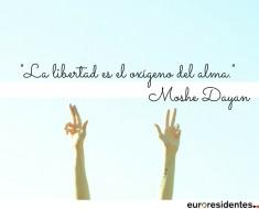 La libertad es el oxígeno del alma