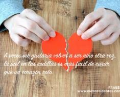 Frases corazón roto