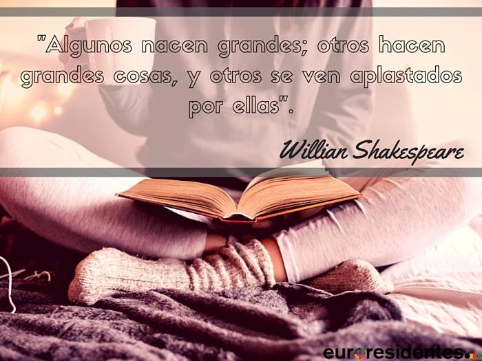 citas célebres de escritores famosos, William Shakespeare