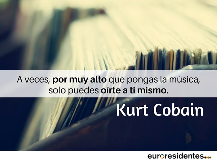 citas célebres Kurt Cobain