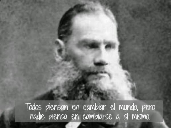 Citas Célebres De León Tolstói Frases Y Citas Célebres