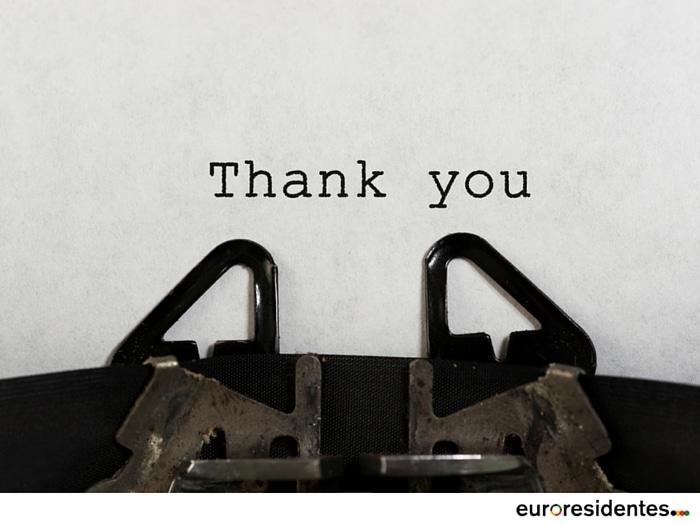 Palabras De Agradecimiento Frases Y Citas Celebres