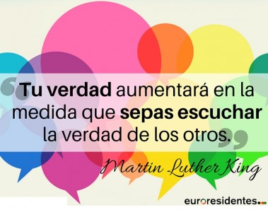 Martin Luther King frases euroresidentes