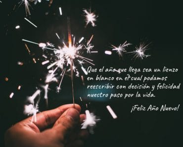 Frases para felicitar el Año Nuevo