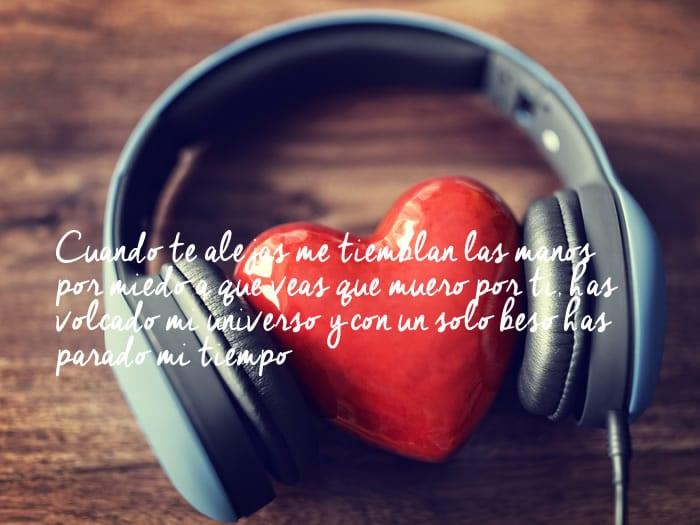 Frases de amor de canciones de Pablo Alborán