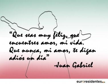 12 hermosas frases de canciones de Juan Gabriel