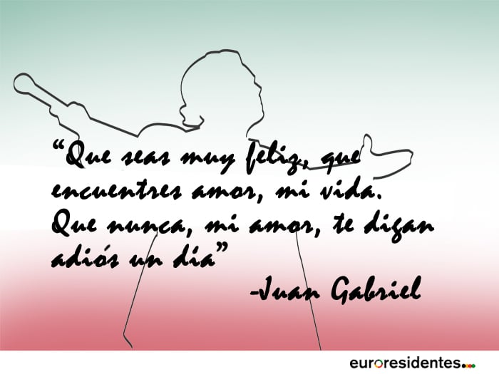 12 Hermosas Frases De Canciones De Juan Gabriel Frases Y Citas