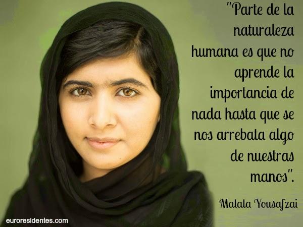 25 Citas Célebres De Malala Yousafzai Que Inspiran Frases