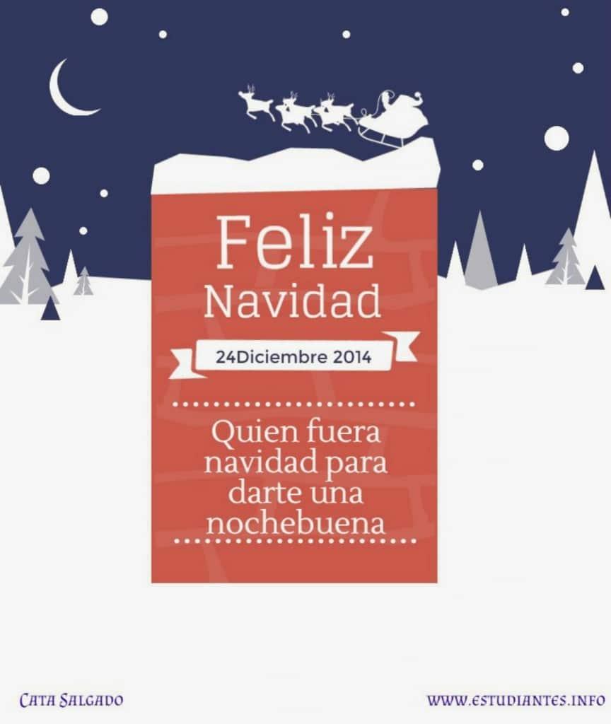 Postales para felicitar la navidad personalizadas frases - Citas navidenas celebres ...