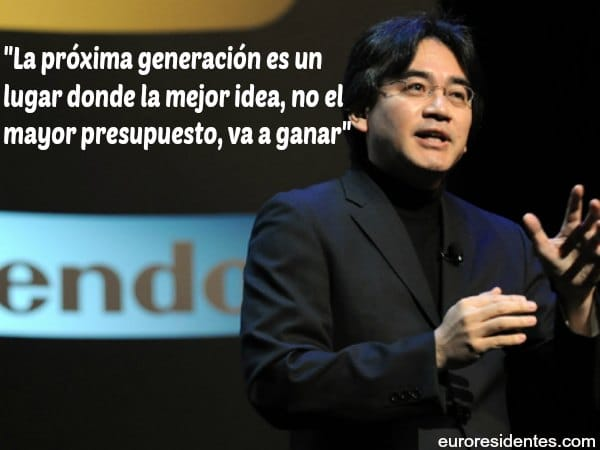 70 Frases De Amor Memorables: Satoru Iwata, 15 Frases Memorables