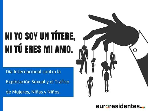Día Internacional contra la Explotación y la trata de mujeres, niñas y niños