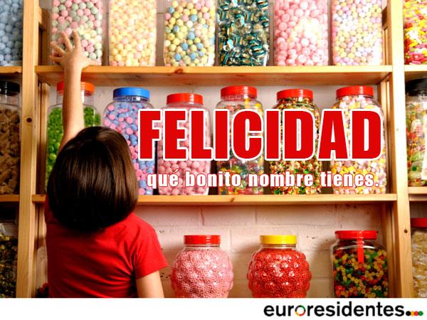 felicidad caramelos