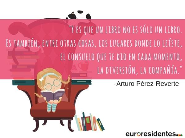 leer lectura libros Arturo Pérez-Reverte